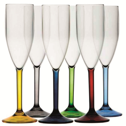 PARTY CHAMPAGNEGLAS 6-PACK